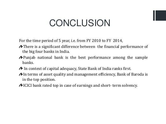 Big bank analysis