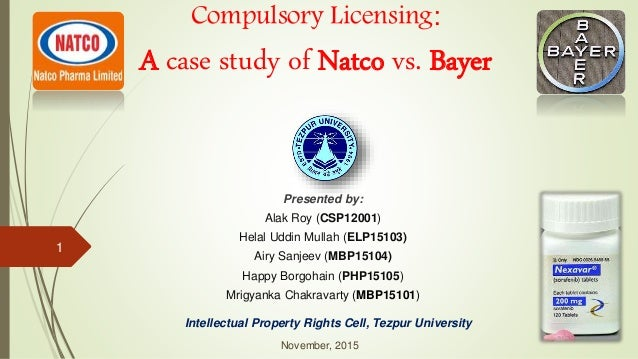 compulsory licensing case study