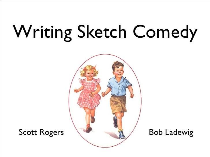 Writing a comedy sketch show list