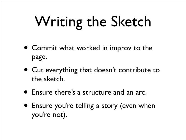 How to Break into Comedy Writing