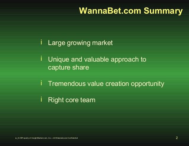 Insight Market Series A Slide 2