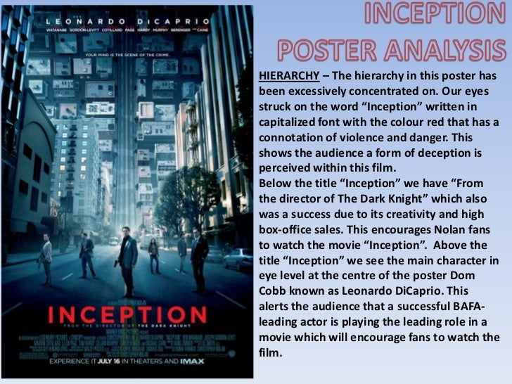 Inception freudian analysis