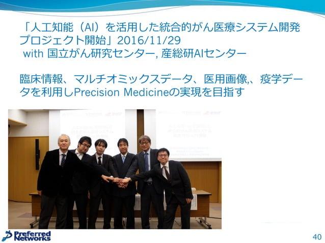 今後の競争は様々なところでおきる 0101011100011 学習データ 計算リソース 学習済みモデル 学習アルゴリズム 学習理理論論 実装(DNNフレームワーク)