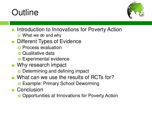Presentation by Rachel Steinacher, on IPA and RCTs Slide 2
