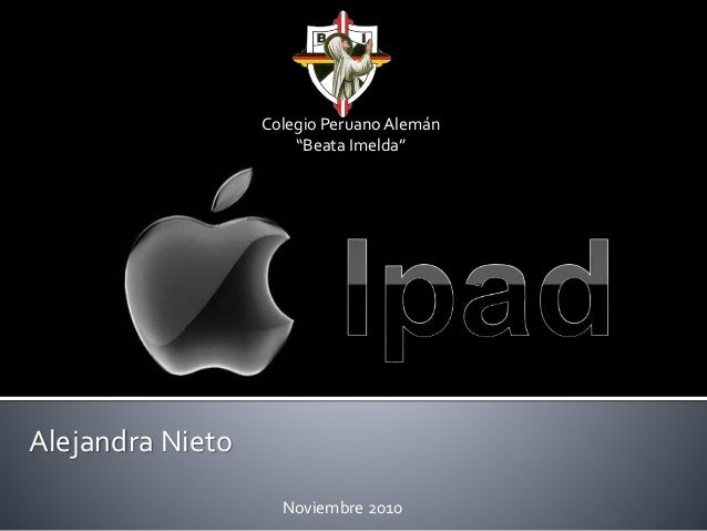 "Alejandra Nieto Colegio Peruano Alemán ""Beata Imelda"" Noviembre 2010"