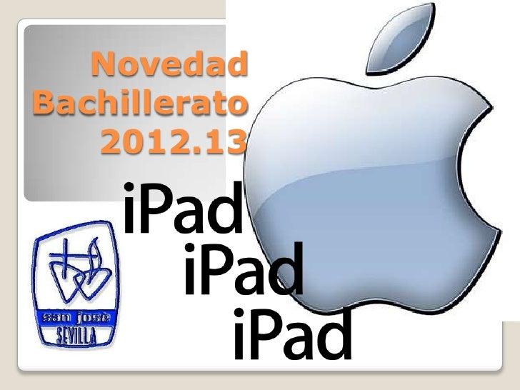 NovedadBachillerato   2012.13