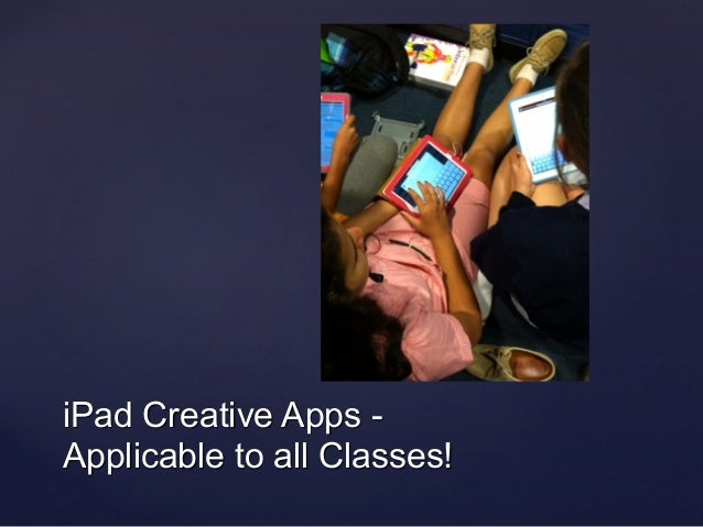 iPad Creative Apps - 