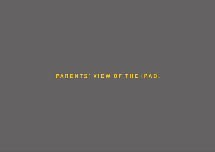 "33% parents say ""iDo!"" to iPad for their kids - iYogi"