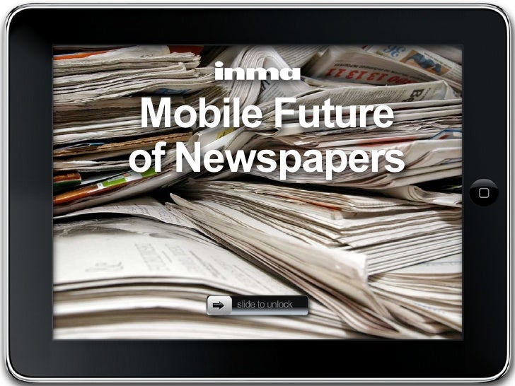 Mobile future of newspapers