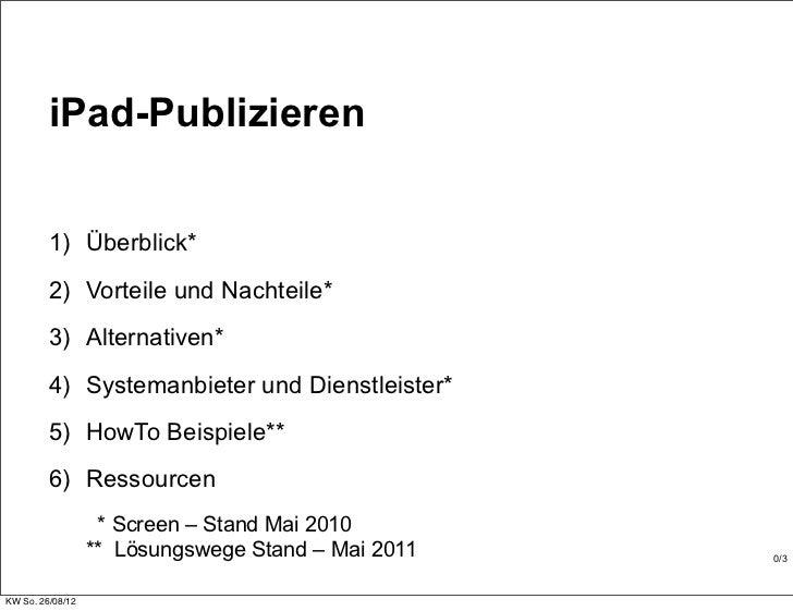 iPad puplizieren-2011-oyen-de Slide 3