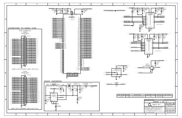 ipad 1 full Schematic Diagram