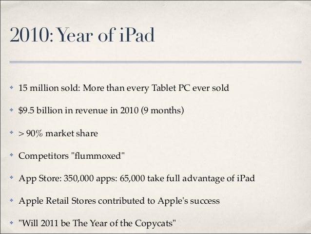2011-03•iPad 2 arrives Slide 3