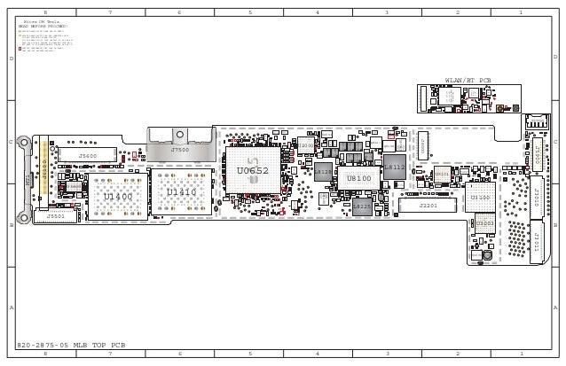 I pad 2 full schematic diagram