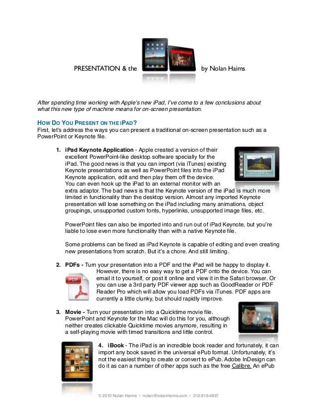apple quicktime player powerpoint 2010