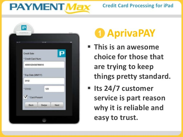 Ipad credit card processing app for small business paymentmax reheart Choice Image