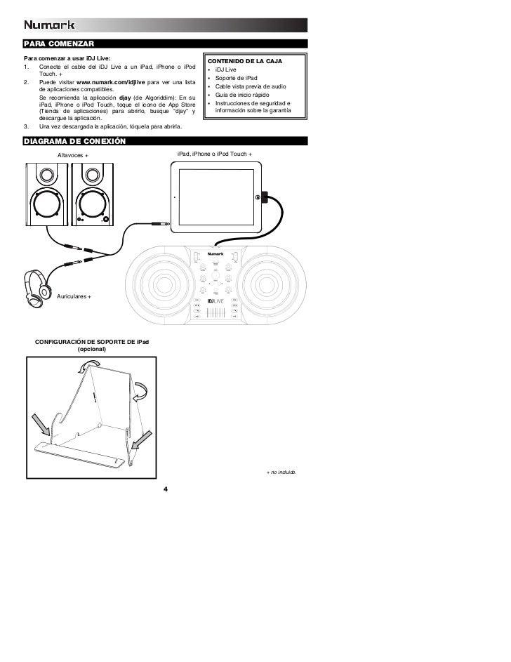 iDJ Live iPod and iPad DJ Quickstart Guide