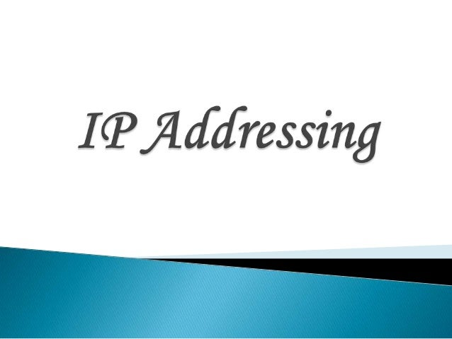 An Internet Protocol (IP) address is a number that identifies a device on a computer network.