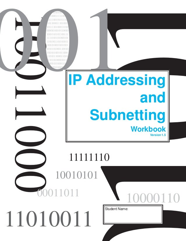 ip addressing and subnetting Thumbs (and other digits) to create a subnetting addressing scheme reverse engineering any ip addressing scheme -the magic of application in the real world.