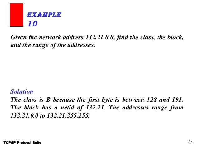 how to find the range network address