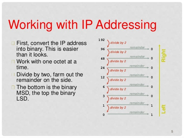how to know ip adres