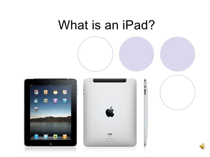 What is an iPad?