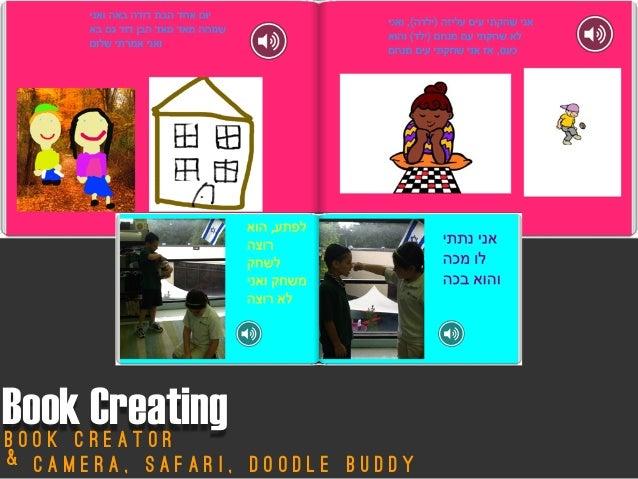 Book CreatingB o o k C r e a t o rC a m e r a , S a f a r i , D o o d l e B u d d y&