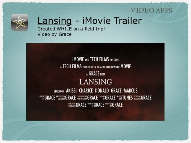Lansing - iMovie Trailer Created WHILE on a field trip! Video by Grace VIDEO APPS