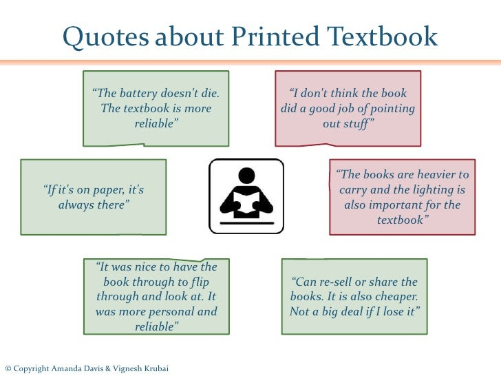 quotes about printed textbook  u201cthe