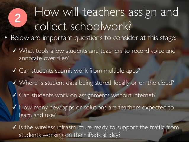 2 • Below are important questions to consider at this stage: ✓ What tools allow students and teachers to record voice and ...