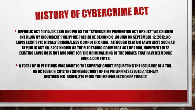 The problems of the internet crime and the necessity for computer related laws