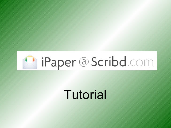 [email_address] Tutorial