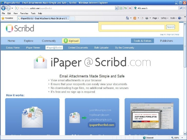 iPaper@Scribd.Com Tutorial Slide 3