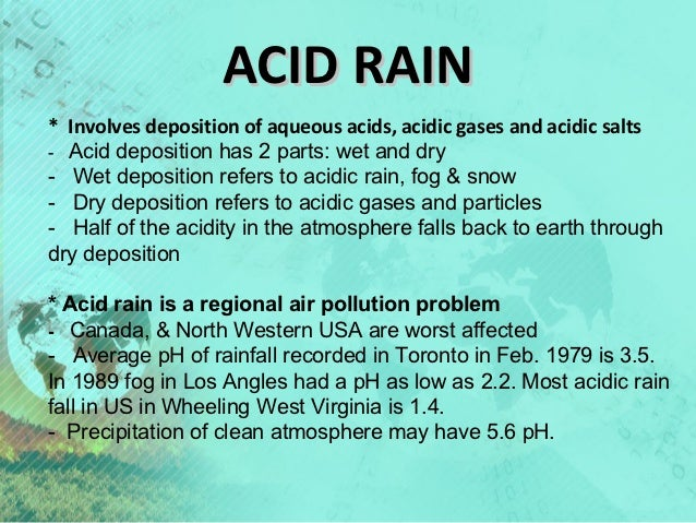 essay acid rain pollution Acid rain research papers discuss the effects it has on the ecosystem purchase custom college research papers.