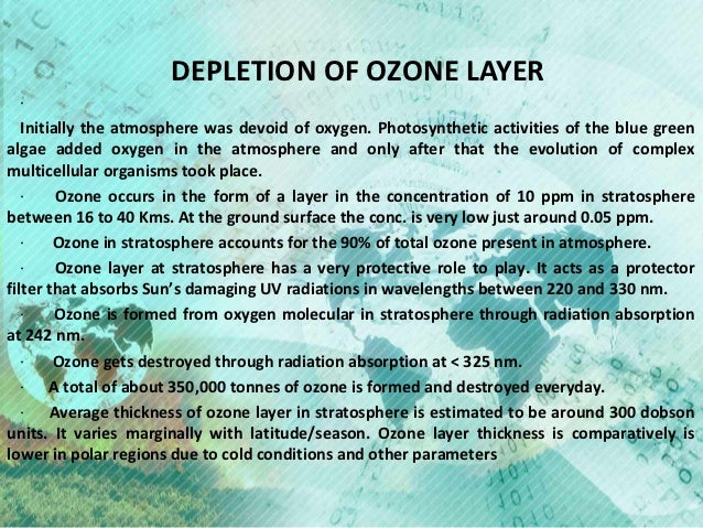 the ozone layer essay Free essay: case study of environmental conservation of ozone in hong kong the ozone layer present in the stratosphere of the earth is utmost important to us.