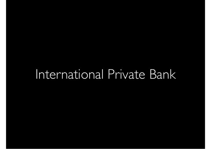 International Private Bank