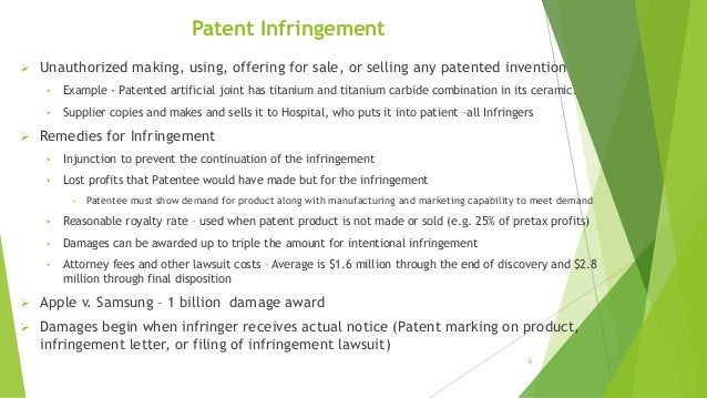 Patent, Trademark, Copyright Protection