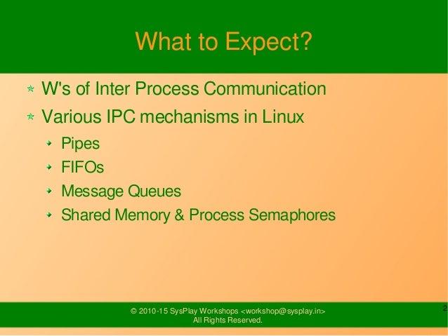 Inter Process Communication Slide 2