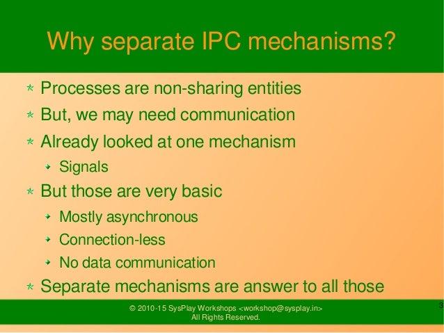 Inter Process Communication Slide 3