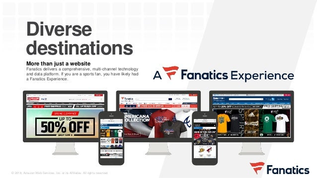 Fanatics Ingests Streaming Data to a Data Lake on AWS
