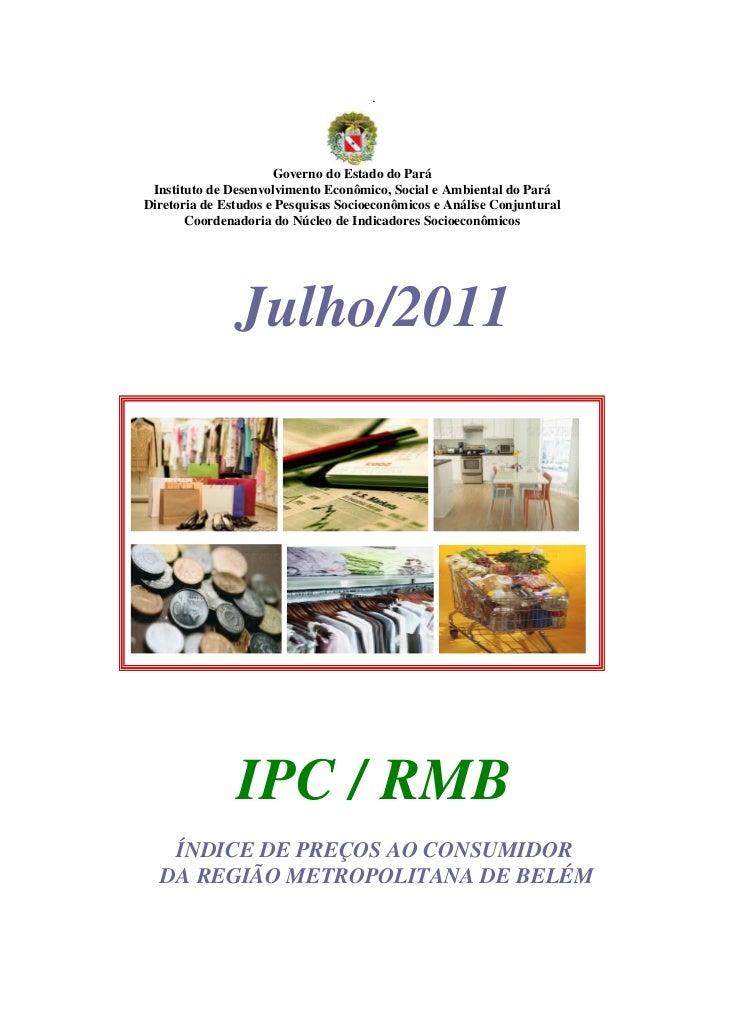 .                      Governo do Estado do Pará Instituto de Desenvolvimento Econômico, Social e Ambiental do ParáDiretor...