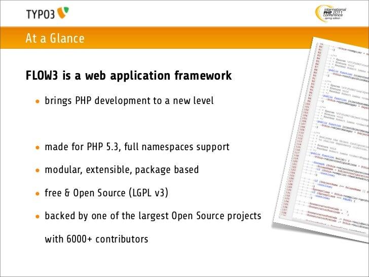 Fluent Development with FLOW3 1.0 Slide 3