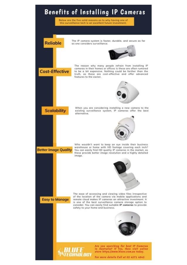 Benefits of Installing IP Cameras
