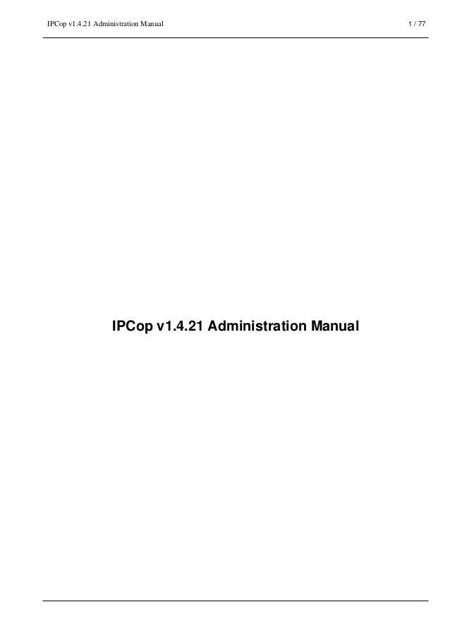ipcop 1.4.18