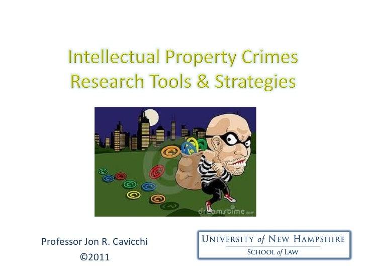 Professor Jon R. Cavicchi ©2011