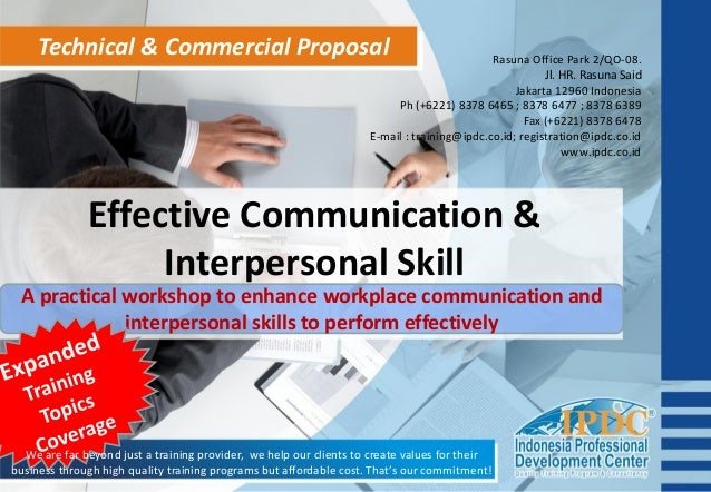 7 Steps to Effective Interpersonal Communication