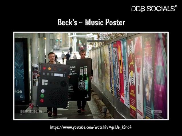 Beck's – Music Poster  https://www.youtube.com/watch?v=gclJe_kSnd4