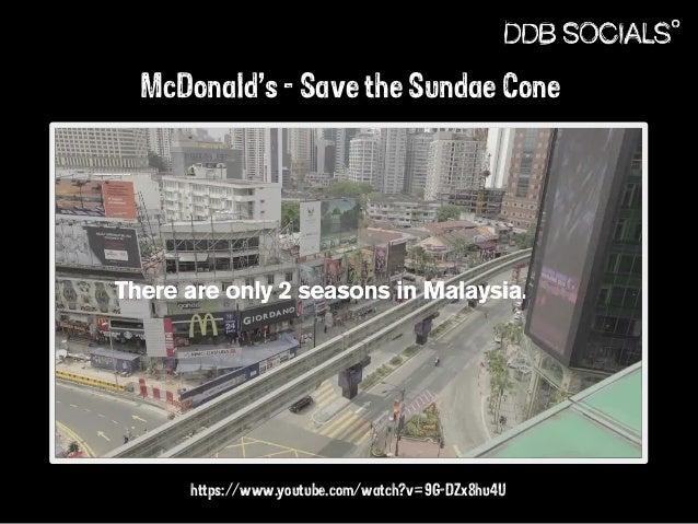 McDonald's - Save the Sundae Cone  https://www.youtube.com/watch?v=9G-DZx8hu4U