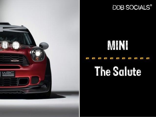 MINI  - - - - - - - - - - -  The Salute