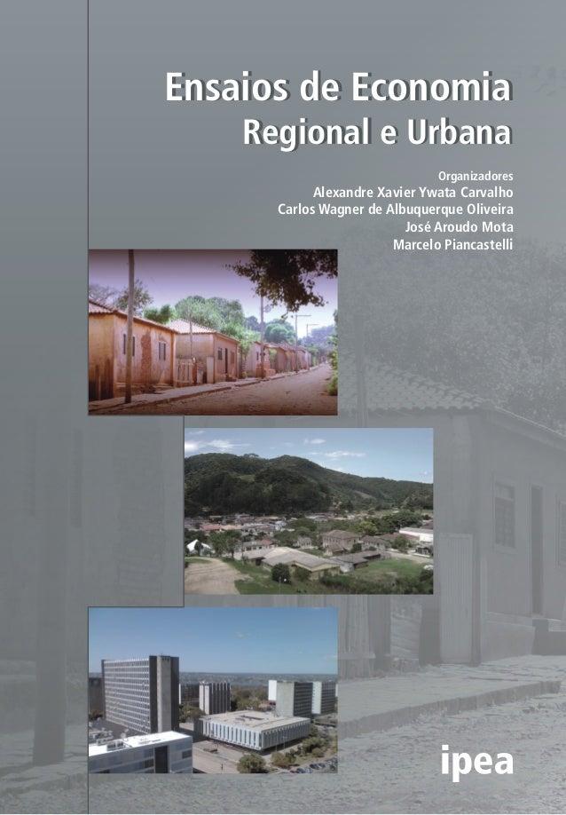 Ensaios de Economia Regional e Urbana