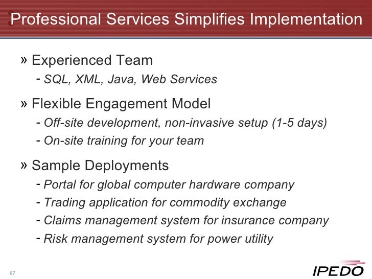 Ipedo Company Overview